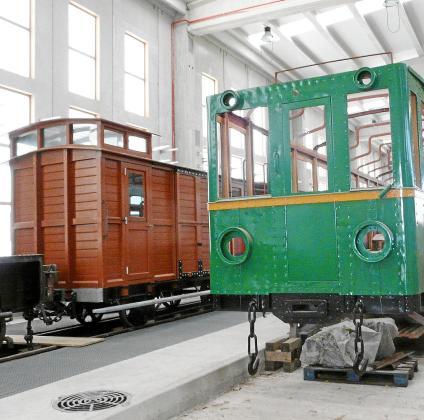 La Fundació Ferrocaib lleva años trabajando en la recuperación del patrimonio ferroviario.