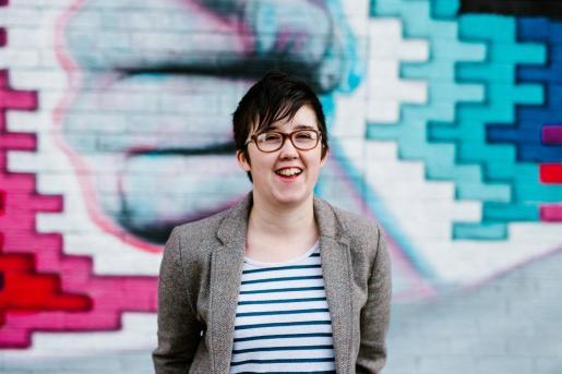 Lyra McKee, durante una sesión de fotografías en Belfast.