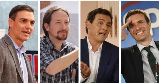 El debate en RTVE el próximo lunes lo empezará Rivera y lo cerrará Sánchez.