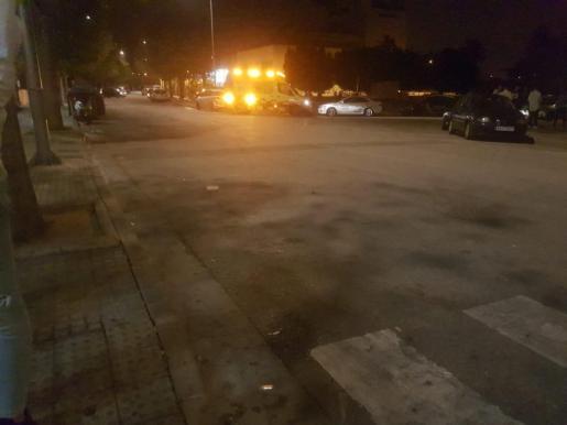 Imagen de la zona donde tuvo lugar la agresión.