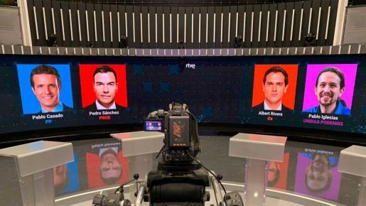 Un estudio de RTVE acogerá el debate.