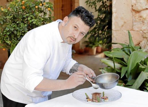 Christian Sequeira, segundo chef de Turquesa Catering.