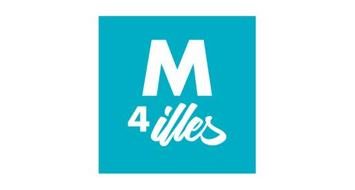 Logo de Moviment 4 Illes.