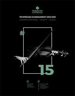 Decimoquinto concierto de la temporada de la Orquestra Simfònica en el Auditórium de Palma.
