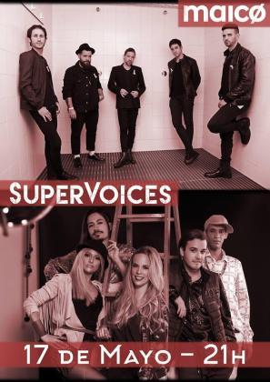 El Auditórium de Palma acoge un doble concierto con SuperVoices y Maico.