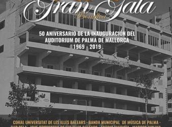 Gala Benéfica para celebrar el 50 aniversario del Auditórium de Palma