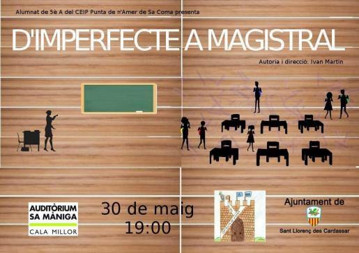 'D'imperfecte a Magistral', de Ivan Martín Guerrero, se representa en Sa Màniga.