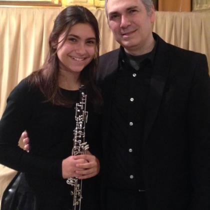 Carlos Bonnin y Lorena Bonnin son padre e hija, y juntos actuarán en Fàbrica Ramis.