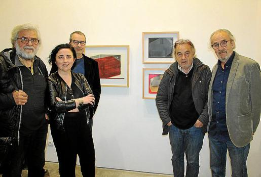 Tomeu Ventanyol, Bel Font, Joan Cortés, Pep Coll y Ramon Canet.