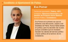 Eva Pomar, candidata de Ciudadanos al Ajuntament de Palma