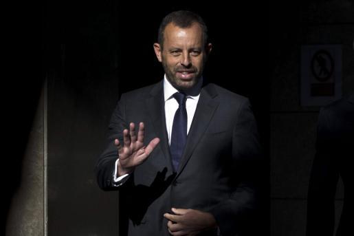 El expresidente del F.C. Barcelona Sandro Rosell.