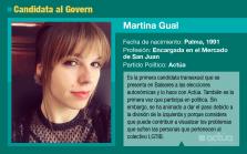 Martina Gual, candidata de Actúa al Parlament balear