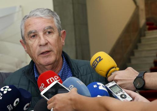 El delegado del Gobierno en Canarias, Juan Salvador León.