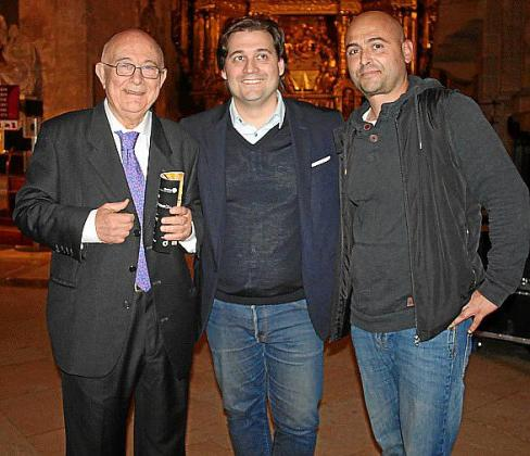 Tomeu Català, Pablo Mielgo y Juan Ramón García.
