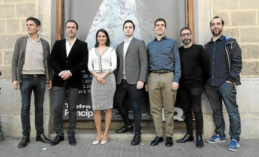 Carlos Forteza, Simón Orfila, Sara Blanch, Xabier Anduaga, Joan Martín Royo, José Martret y Pere Victor Rado.