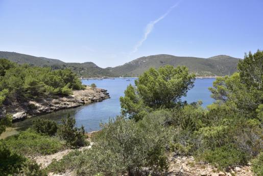 Vista del Parque Nacional de Cabrera.