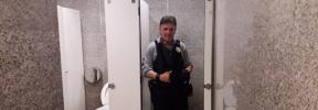 Los vigilantes de la Intermodal salvan la vida a una suicida en los baños de la estación