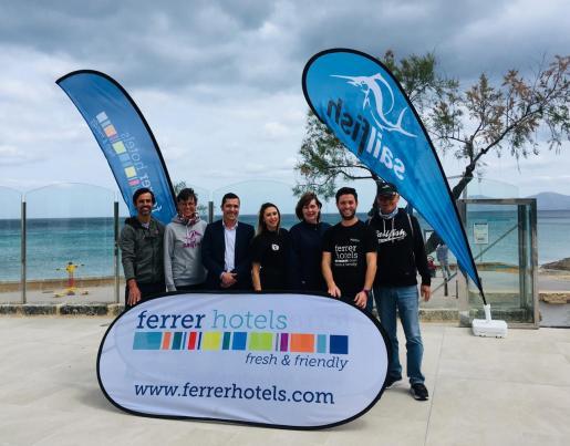 Imagen de la presentación del Triatlón Ferrer Hotels.