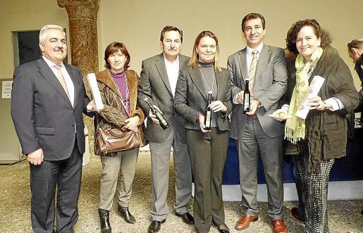 Luis Molina, Carmen Rosselló, Josep Oliver, María Salom, Gabriel Company y Pilar Ribal.