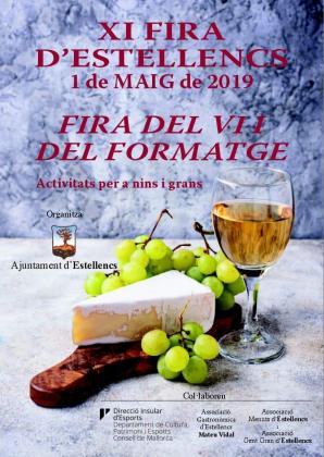 La Fira del Vi i del Formatge de Estellencs se celebra el primero de mayo.