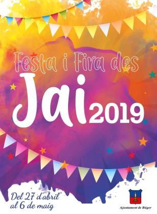 Búger celebra, un año más, la Festa i Fira des Jai 2019 durante el primer fin de semana de mayo.