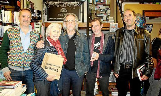 Pere Muñoz, Ana María Parés, Pepe Cañabate, Pedro Oliver y Gori Rexac.