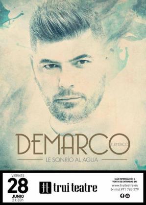 Trui Teatre acoge el concierto de DeMarco Flamenco