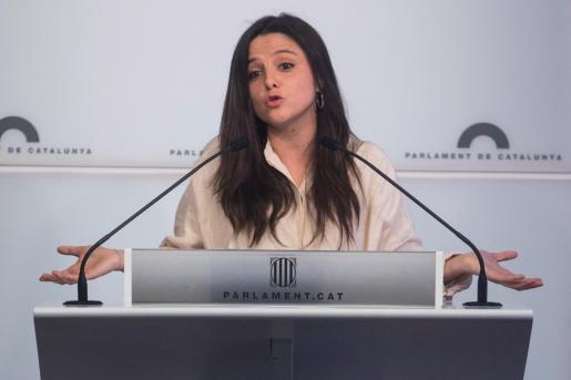 La diputada de la CUP en el Parlament, Maria Sirvent.