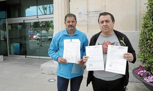 Vecinos del Molinar registraron las firmas en la Autoritat Portuària y antes lo hicieron en Cort.
