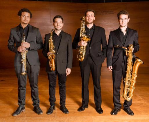 Quartet de Saxòfon también actuará en el Ciclo de Conciertos del Mes de Música de Algaida.