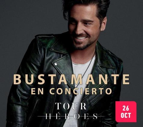 Llega a Trui Teatre el 'Tour Héroes' de David Bustamante.