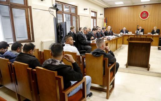 La Guardia Civil realizó seguimientos a la presunta banda de narcotraficantes de Magaluf y los grabó desde la azotea de un hotel entre mayo y julio de 2017.