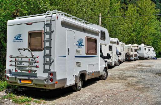 Emaya ha abierto un punto de servicios para autocaravanas en el parque verde de Son Castelló.
