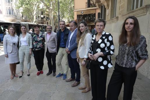 Los diputados de Baleares que lograron su escaño en las elecciones generales han recogido este viernes sus credenciales en la Audiencia.