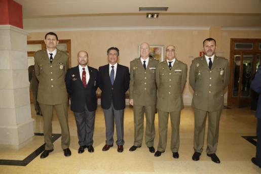 Un momento del acto celebrado en la Delegación de Defensa de Baleares.