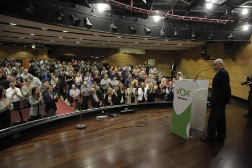Fulgencio Coll en el acto celebrado en Palma.