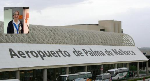 La agresión tuvo lugar en la terminal de llegadas del aeropuerto de Son Sant Joan de Palma.