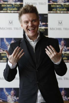 """El cantante y compositor brasileño Michel Teló, responsable de la exitosa versión del tema """"Ai se eu te pego""""."""