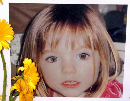 La pequeña Madeleine McCann, en una de las imágenes distribuidas desde su desaparición.