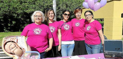 Imagen de archivo de varias integrantes de la Associació Balear de Comares.