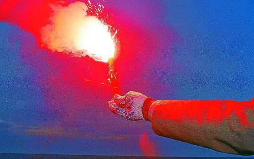 Las bengalas náuticas son muy peligrosas y pueden provocar incendios.