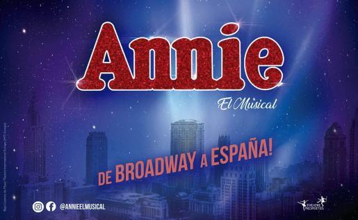 El musical de Broadway, 'Annie', recala en el Auditórium de Palma.