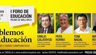 El Auditórium de Palma acoge la primera edición del Foro de Educación