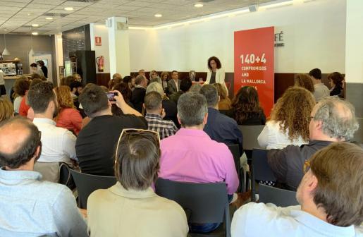 Catalina Cladera, candidata del PSIB-PSOE al Consell de Mallorca.