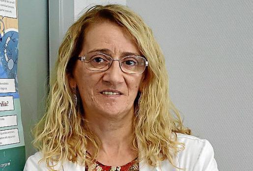 La doctora Carmen Calles.
