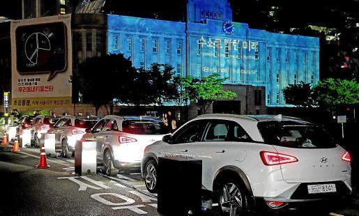 El 'Empowering Tomorrow with Hydrogen', un espectáculo único de Hyundai Motor.