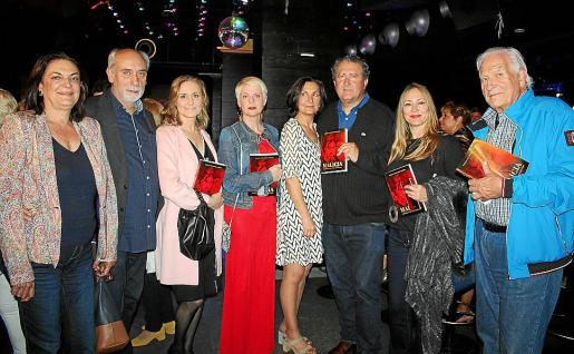 Jerónima Marqués Rattier, Carlos Muñoz, Luisa Marqués Rattier, Aina Aguiló, Tonina Bestard, Ramón Servalls, Inma Bianchi y Sandro Fantini.