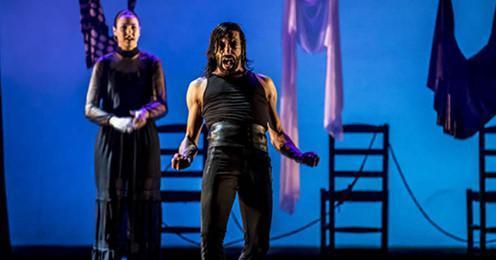 Baile flamenco con Eduardo Guerrero en el Auditórium de Palma.