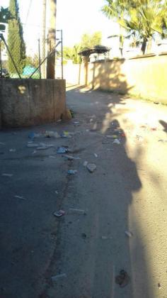 Imagen del lugar donde ocurrieron los incidentes el 2 de enero de 2018.