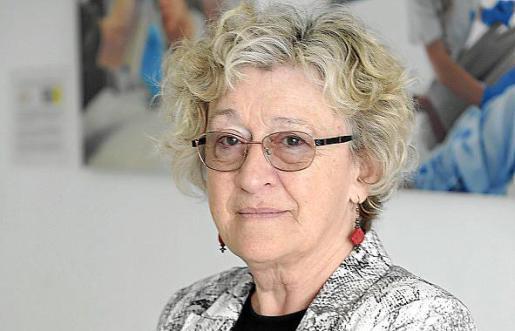 Barbara Stilwell, fotografiada en Palma, en el Colegio de Enfermería.